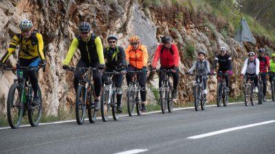 FOTO Održano drugo izdanje biciklijade Putevima šparoga @ Mošćenička Draga
