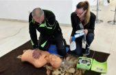 U OKU KAMERE Održan tečaj primjene automatskog vanjskog defibrilatora @ KTC Gervais