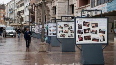 FOTO Na Korzu postavljena izložba 'Budi majstor!' za promociju obrtničkih zanimanja @ Rijeka