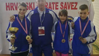 David Milinovich prvak Hrvatske u kategoriji mlađih kadeta -45kg
