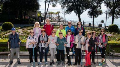 FOTO: Sunčano vrijeme ispratilo posljednju grupu 'hodača' u sklopu programa Ožujak – Oaza wellnessa