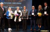 Dan Primorsko-goranske županije obilježen svečanom sjednicu u Gervaisu – Nagrade za životno djelo uručene akademiku Elsu Kuljaniću i Alenki Juretić