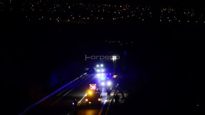Zbog teške prometne nesreće promet od čvora Matulji prema tunelu Učka teče usporeno