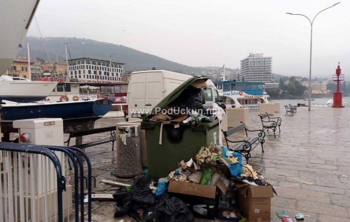 Najavljena nova odluka o gospodarenju otpadom: Opatija traži povećanje broja tjednog odvoza smeća