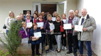 FOTO 28 iznajmljivača obiteljskog smještaja uspješno završilo tečaj njemačkog jezika @ Ika