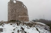 VIDEO Na Vojaku pada snijeg, Poklon okupan kišom @ Učka