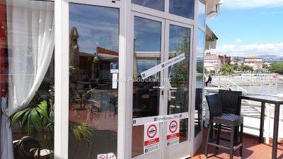 Lučka kapetanija zapečatila prostor restorana Bella Vista na Slatini