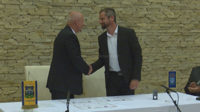 Riccardo Staraj i Luciana Sterle potpisali sporazum o pobratimstvu općine M. Draga i grada Zamardi na Balatonu