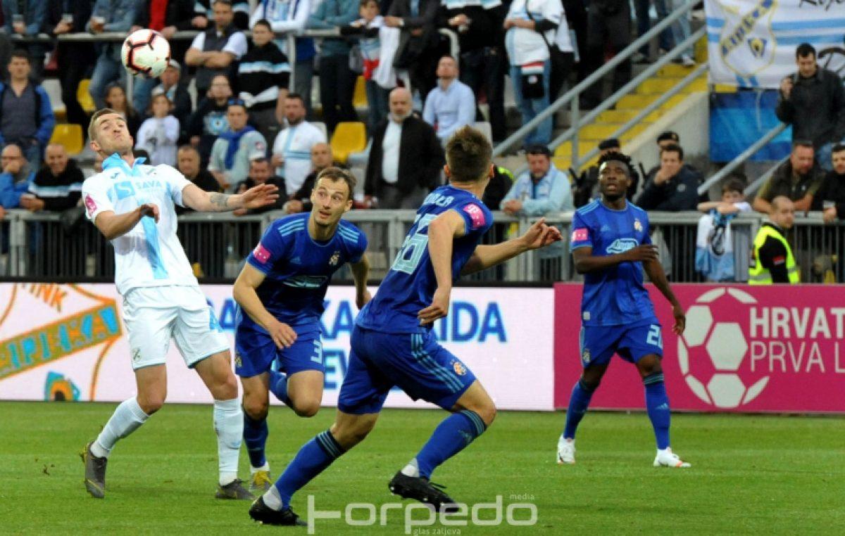 FOTO Derbi bez golova – Rijeka i Dinamo podijelili bodove u utakmici bez pravih prilika
