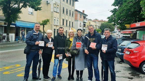 U OKU KAMERE Romana Jerković održala predizborno druženje u Matuljima