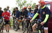 Vatrogasci u humanitarnoj akciji pedalirali za pomoć djevojčici Emi @ Liburnija
