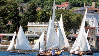 FOTO/VIDEO Održana tradicionalna 10. regata tradicijskih barki na jedra za Trofej 'Nino Gasparinic'