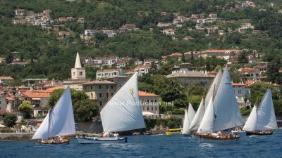 Održana tradicionalna 10. regata tradicijskih barki na jedra za Trofej 'Nino Gasparinic'