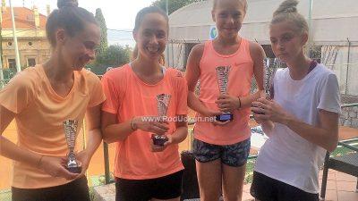 U OKU KAMERE Održano 26. Otvoreno prvenstvo Opatije u tenisu do 14 godina