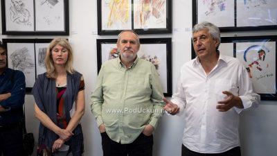 JAZZ vs JAZZ – Otvorena zajednička izložba Željka Čurčića i Davora Hrvoja @ Volosko