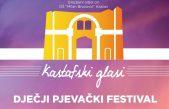 "Dječji pjevački festival pod nazivom ""Kastafski glasi"" 2019. ovog četvrtka na Crekvini"