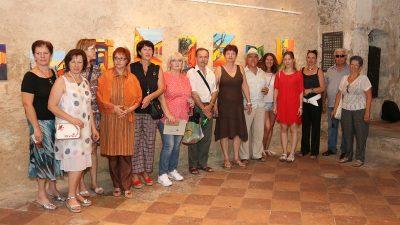 FOTO Otvorena izložba Kastafski kolori udruge likovnih umjetnika amatera Braća Baštijan