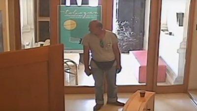 VIDEO Nepoznati kradljivac ušetao na Kanal RI i otuđio vrijednu opremu, snimile ga nadzorne kamere