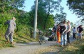 Radna akcija čišćenja cesta unutar Mjesnog odbora Principi
