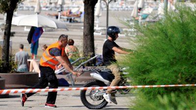 Kaskaderskim scenama započelo snimanje TV serije 'Strike Back' @ Opatija