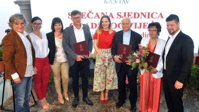 Grad Kastav proslavio svoj dan – Na svečanoj sjednici uručene nagrade Franji Jurčeviću, Jadranki Cetini i Dejanu Rubeši