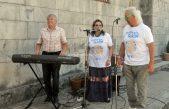 Glazba premrežila županiju i stigla u staračke domove, prihvatilište za beskućnike i druge neuobičajene lokacije @ Volosko, Lovran