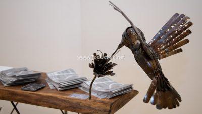 FOTO Centar Gervais ugostio atraktivnu izložbu 'Svijet metalnih skulptura' Siniše Vugreka