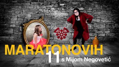 Mia Negovetić i Maratonovih 11 ove srijede na Trsatskoj gradini