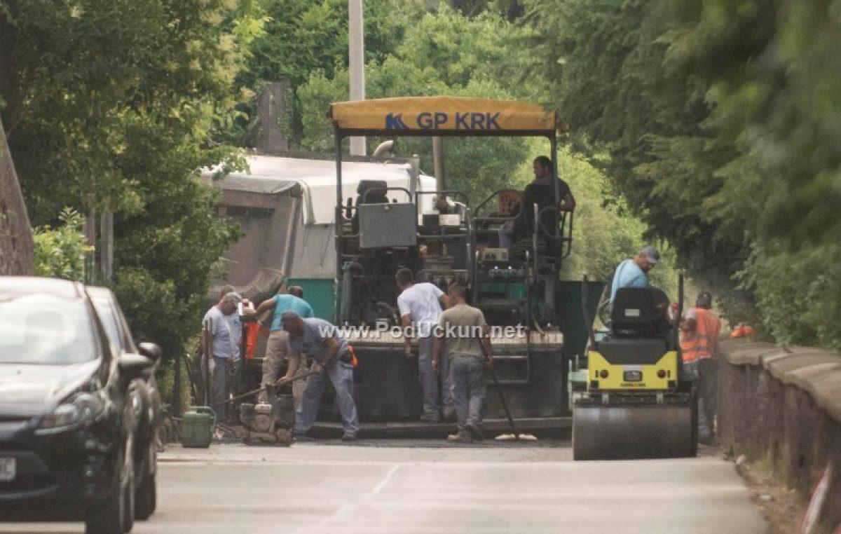 Dodatni radovi uređenja odgodili asfaltiranje Ulice 1. maja @ Ičići