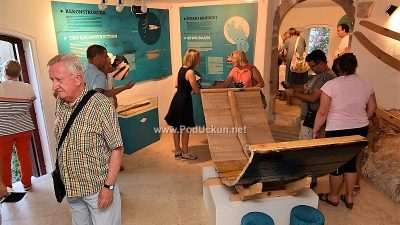 Otvorena izložba 'Zambratija – prapovijesni šivani brod' @ Brseč