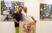 FOTO/VIDEO Začudni motivi umjetničke 'prekogranične suradnje' – Otvorena izložba Borisa Kačića i Emila Omana