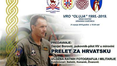 """Predavanje """"Prelet za Hrvatsku"""" i izložba ratne fotografije, odora i opreme sutra u Kastvu"""