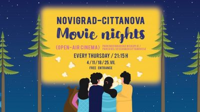 Movie nights u Parku Novigradske biskupije