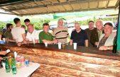 VIDEO Lovna grupa Brgud uz prigodnu feštu svečano otvorila svoju novu lovačku kućicu