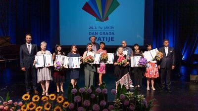 FOTO Održana svečana sjednica gradskog vijeća – Mariji Trinajstić uručena nagrada za životno djelo @ Opatija