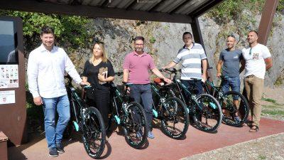 FOTO Predstavljen Kastav bike – Novi sustav električnih bicikala na ulazu u šume Lozu i Lužinu