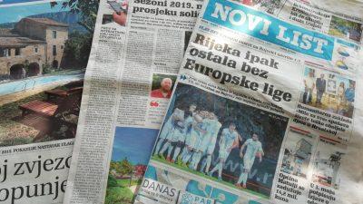 Slavica Bakić podnijela ostavku, fotograf Ivica Tomić imenovan v. d. glavnog urednika Novog lista