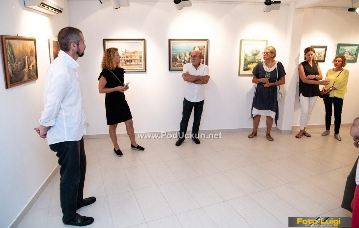 FOTO Otvorena izložba Nenada Nalisa 'Zeleni pogled' @ Mošćenička Draga