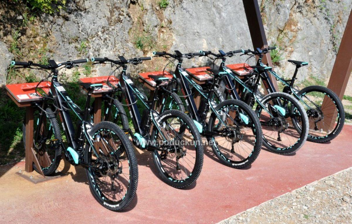 Predstavljen Kastav bike – Novi sustav električnih bicikala na ulazu u šume Lozu i Lužinu