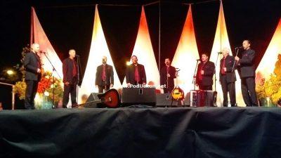 VIDEO Klapa Skalin održala koncert pred prepunim Amfiteatrom @ Matulji