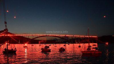 VIDEO/FOTO Noć kada je 'gorio' Krčki most – Armada bakljama odala počast za 222 poginula branitelja