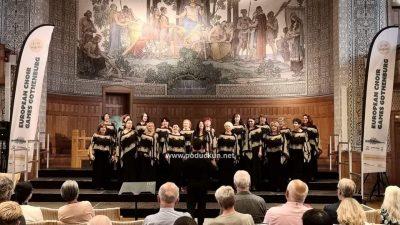 FOTO/VIDEO Ženski zbor KUD-a Učka Matulji nagrađen srebrom na Europskim zborskim igrama u Göteborgu