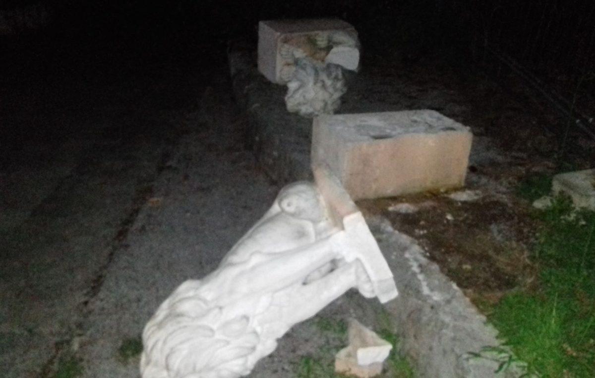 U OKU KAMERE Hotel Belveder na meti vandala – U 'noćnom pohodu' stradali ukrasni lavovi