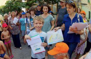 U OKU KAMERE Mali Mandrać – Dječja kreativnost pretvorila Volosko u razigrani atelje na otvorenom