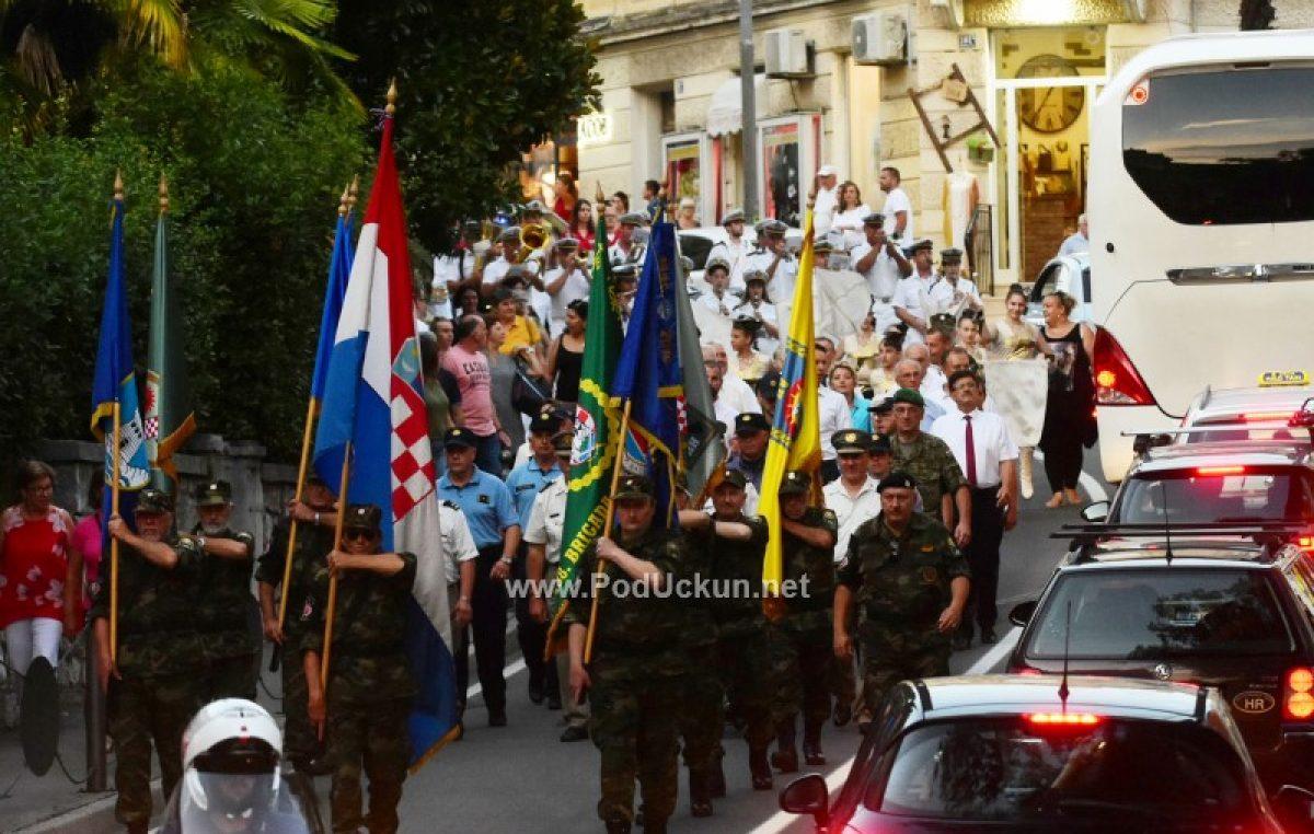 FOTO/VIDEO Dan pobjede i domovinske zahvalnosti i Dana hrvatskih branitelja – Održan svečani mimohod u čast pobjede @ Opatija