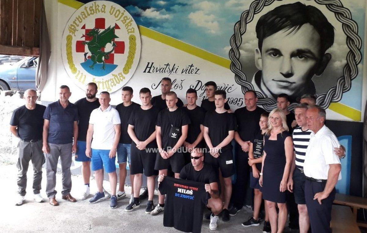 FOTO/VIDEO Svečano predstavljen mural u čast Miloša Dujmovića @ Mune