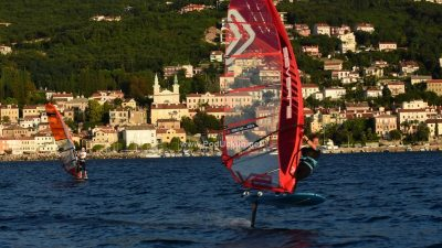 FOTO/VIDEO Startalo prvo otvoreno prvenstvo Hrvatske u 'foil' jedrenju @ Volosko