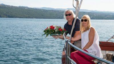FOTO Polaganjem vijenca u more započelo obilježavanje Dana pobjede i domovinske zahvalnosti i Dana hrvatskih branitelja