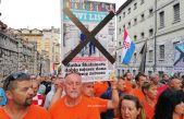 FOTO/VIDEO Prosvjed podrške Matku Škalameri okupio više od 2.500 građana: 'Danas Matko, sutra svatko'