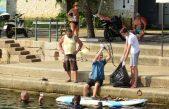 U OKU KAMERE Održana akcija čišćenja obale i mora @ Volosko